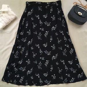 Worthington Petite Floral Maxi Skirt